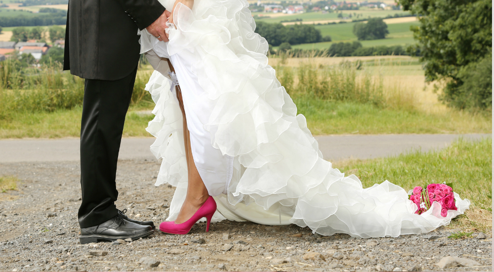 Die verschiedenen Schleppen bei Brautkleidern