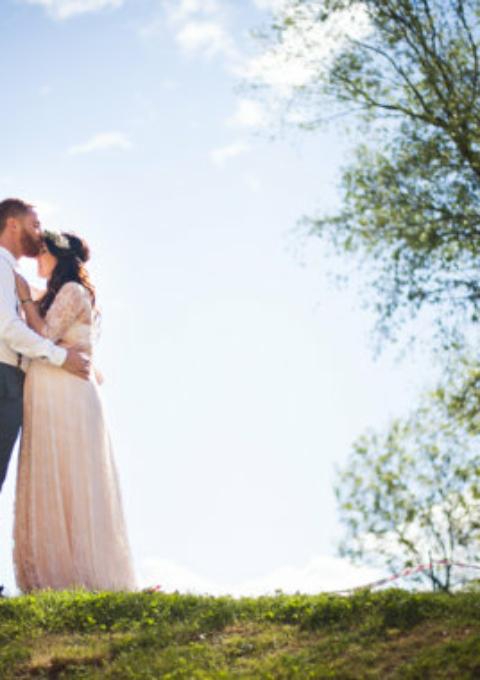 Brautkleid | Mimètik BCN | Standesamt | Umstandskleid | Maßgeschneidert