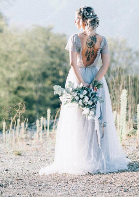 Brautkleid | Anna Skoblikova | Boho