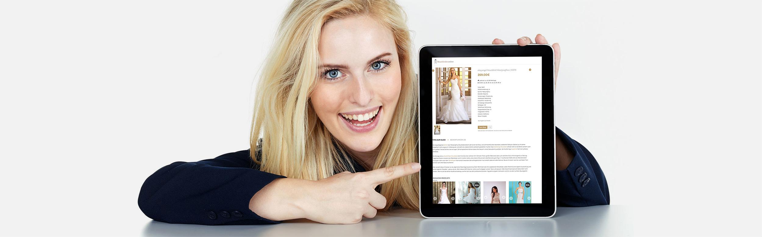 Brautkleid verkaufen | kostenlos & provisionsfrei | Brautkleider.online