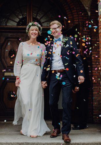 Second Hand Brautkleid | Saja Wedding | Boho | Gr. 40