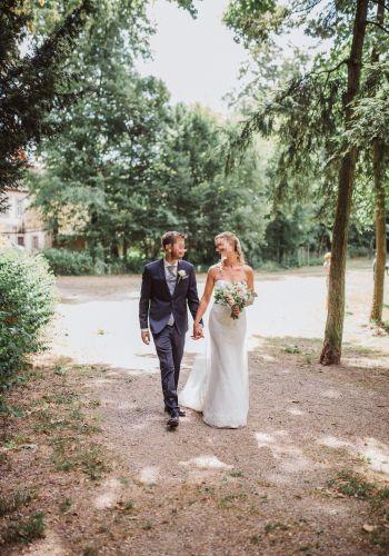 Second Hand Brautkleid | Sincerity Bridal / Justin Alexander | Etui | Gr. 36