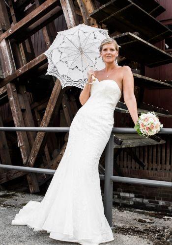 Second Hand Brautkleid | Sincerity Bridal / Justin Alexander | Meerjungfrau | Gr. 38
