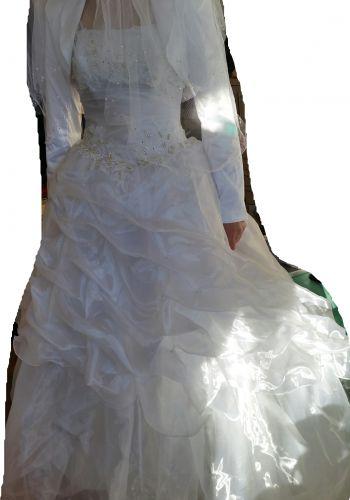 Second Hand Brautkleid | Einzelanfertigung | Gr. 36