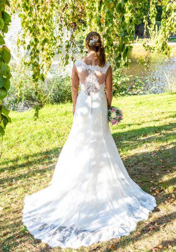 Second Hand Brautkleid | AnnAngelex | Meerjungfrau | Gr. 36