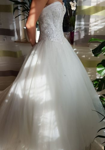 Second Hand Brautkleid | Lisa Donetti | A-Linie | Gr. 38
