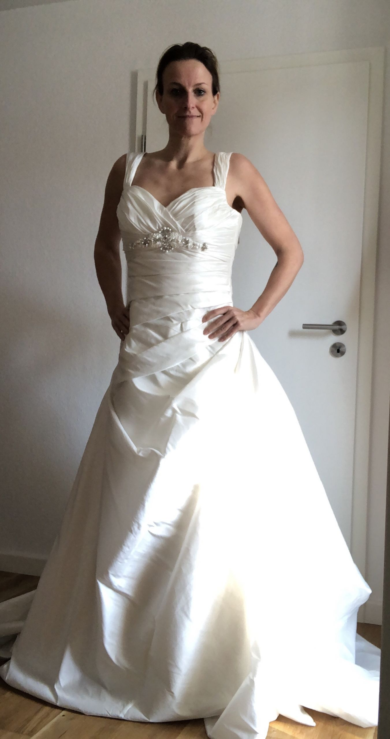 second hand brautkleid | pronovias barcelona | a-linie | gr. 38