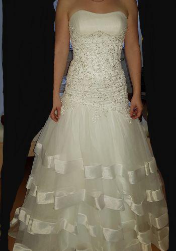 Second Hand Brautkleid | Im | Meerjungfrau | Gr. 34