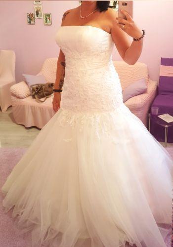 Second Hand Brautkleid | Meerjungfrau | Gr. 42