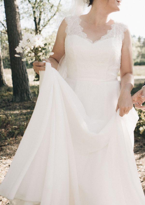Second Hand Brautkleid | Lilly | A-Linie | Gr. 42