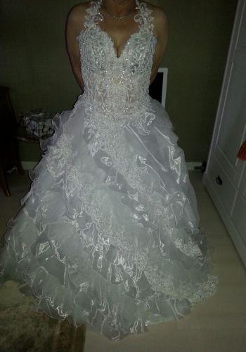 Second Hand Brautkleid | nicht-gelistet-marke-hinzufuegen | Prinzessin | Gr. 38