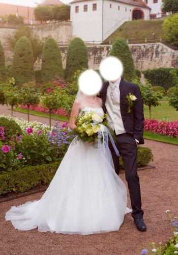 Second Hand Brautkleid | Agnes Bridal Dream / Mode de Pol | A-Linie | Gr. 36