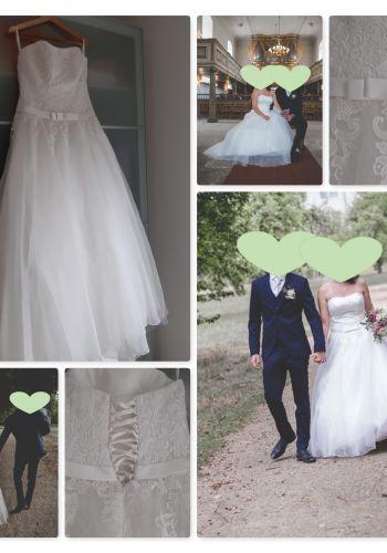 Second Hand Brautkleid | Agnes Bridal Dream / Mode de Pol | Prinzessin | Gr. 38