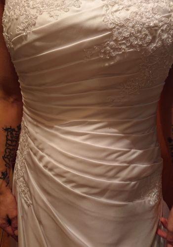 Second Hand Brautkleid | Lilly | A-Linie | Gr. 40