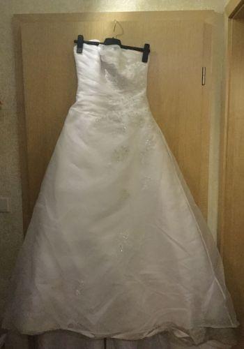 Second Hand Brautkleid | A-Linie | Gr. 36