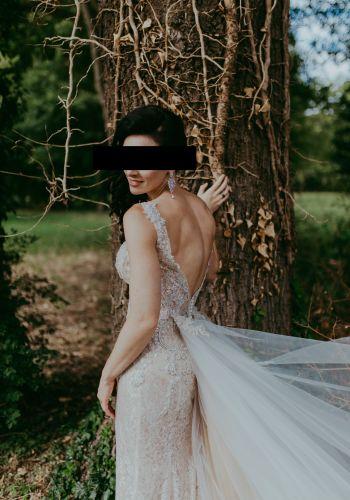 Second Hand Brautkleid | Oksana Mukha | Meerjungfrau | Gr. 36