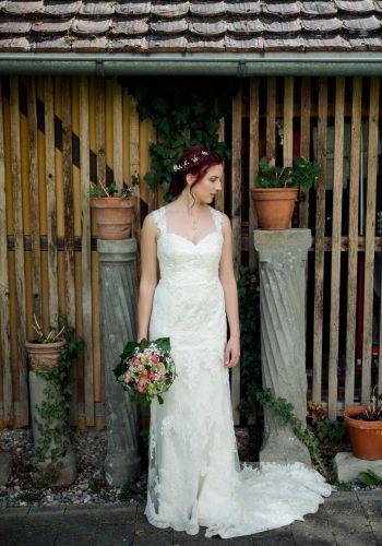 Second Hand Brautkleid | Enzoani | Meerjungfrau | Gr. 36