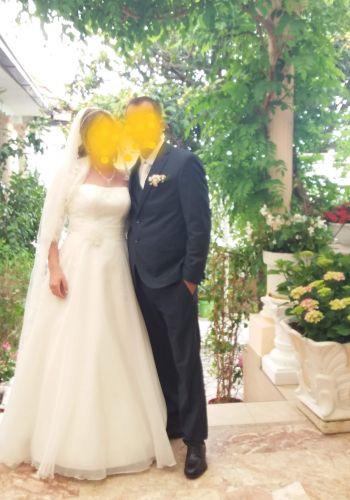 Second Hand Brautkleid | Agnes Bridal Dream / Mode de Pol | A-Linie | Gr. 38
