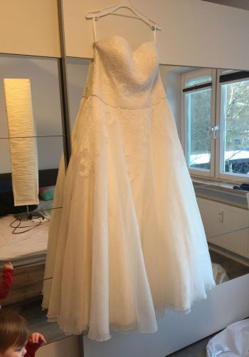 Second Hand Brautkleid | Elizabeth Passion / Mode de Pol | A-Linie | Gr. 44