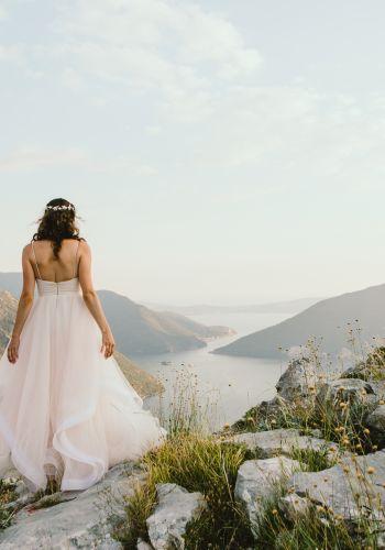 Second Hand Brautkleid | Angelina Androsova | A-Linie | Gr. 36