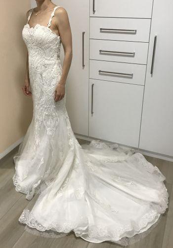 Second Hand Brautkleid | Aire Barcelona | Meerjungfrau | Gr. 40