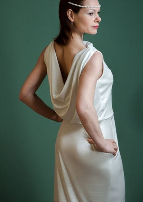 Brautkleid | ROTETULPE | Standesamt | Etui | Minikleid