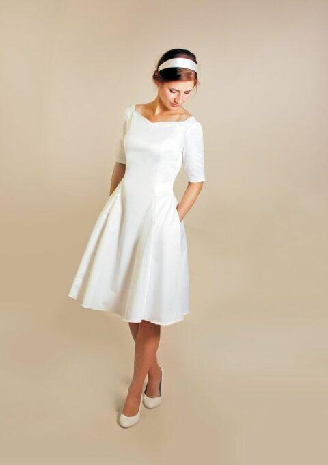 Brautkleid | FEMKITforBRIDES | R.A.H.E.L | Minikleid | Standesamt