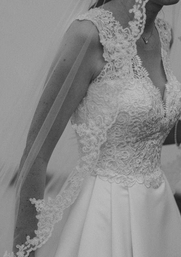 Second Hand Brautkleid   Mode de Pol   Prinzessin   Gr. 36