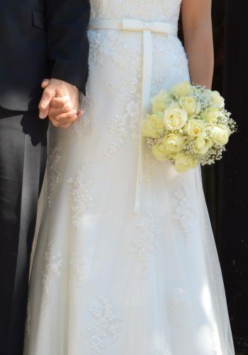 Second Hand Brautkleid | Sincerity Bridal / Justin Alexander | A-Linie | Gr. 38