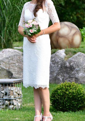 Second Hand Brautkleid | Bianco Evento | Etui | Gr. 36