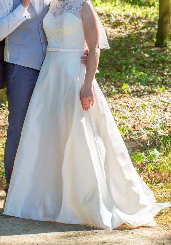 Second Hand Brautkleid | Valérie / Kleemeier | A-Linie | Gr. 38