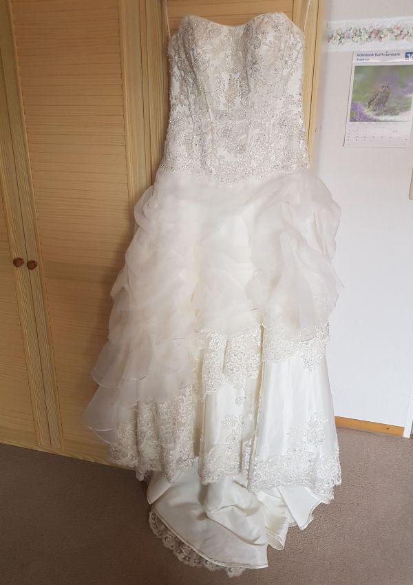 Second Hand Brautkleid | Agnes Bridal Dream / Mode de Pol | A-Linie | Gr. 40
