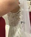 Second Hand Brautkleid | La Sposa / St. Patrick / Pronovias | A-Linie | Gr. 40