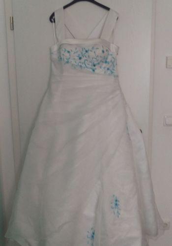 Second Hand Brautkleid | Einzelanfertigung | A-Linie | Gr. 46