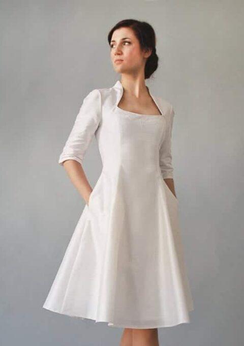 Brautkleid   FEMKITforBRIDES   N.O.R.M.A   Standesamt   Minikleid