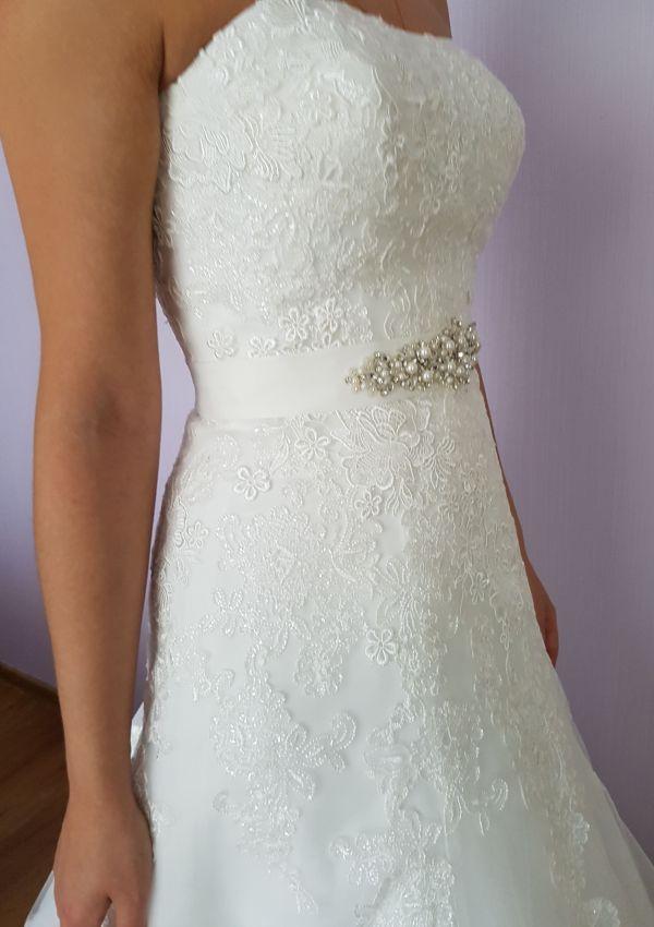 Second Hand Brautkleid | A-Linie | Gr. 34