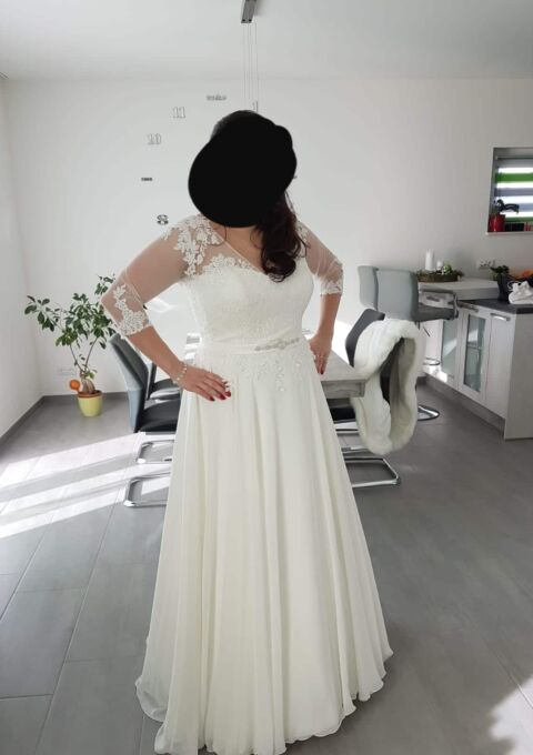 Second Hand Brautkleid | Lovely | A-Linie | Gr. 48