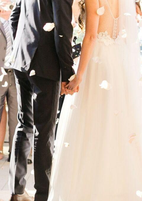 Second Hand Brautkleid | Le Rina | A-Linie | Gr. 36
