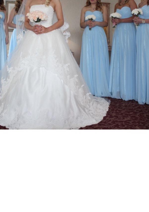 Second Hand Brautkleid   Prinzessin   Gr. 34