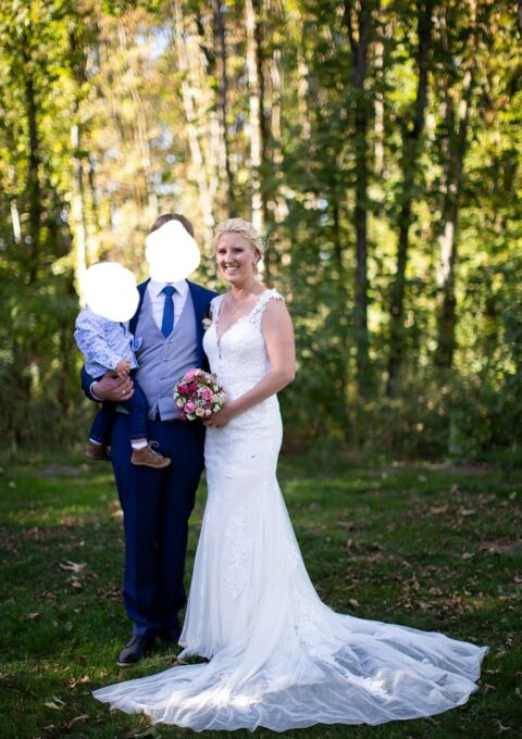 Second Hand Brautkleid | Sweetheart / Justin Alexander | Meerjungfrau | Gr. 38