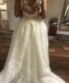 Second Hand Brautkleid | White One / St. Patrick / Pronovias | Zweiteiler | Gr. 38