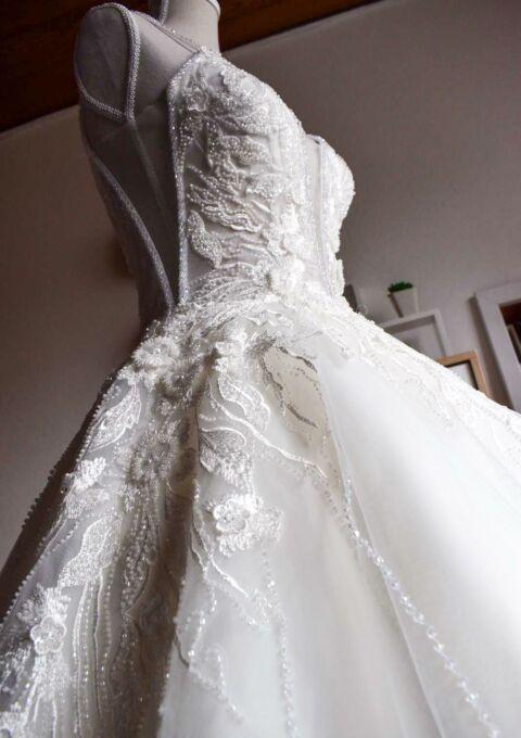 Second Hand Brautkleid | Bianko Vita | A-Linie | Gr. 36 | Kollektion 2020