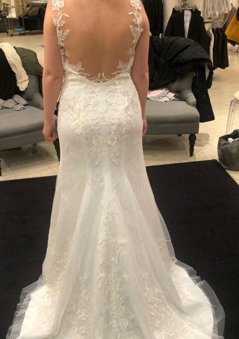 Second Hand Brautkleid | Lilly | Meerjungfrau | Gr. 40
