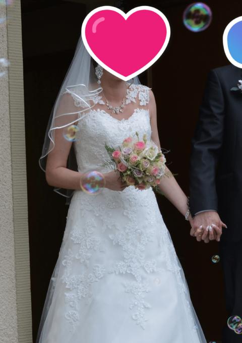 Second Hand Brautkleid | Ladybird | A-Linie | Gr. 36