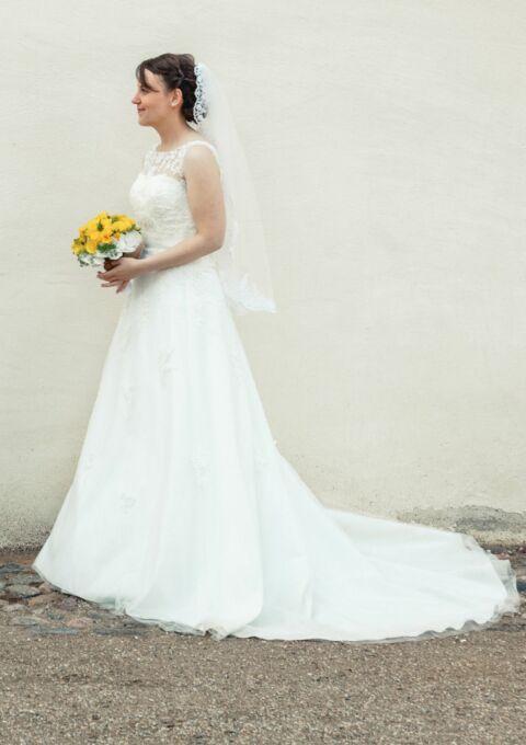 Second Hand Brautkleid | Amélie | A-Linie | Gr. 36