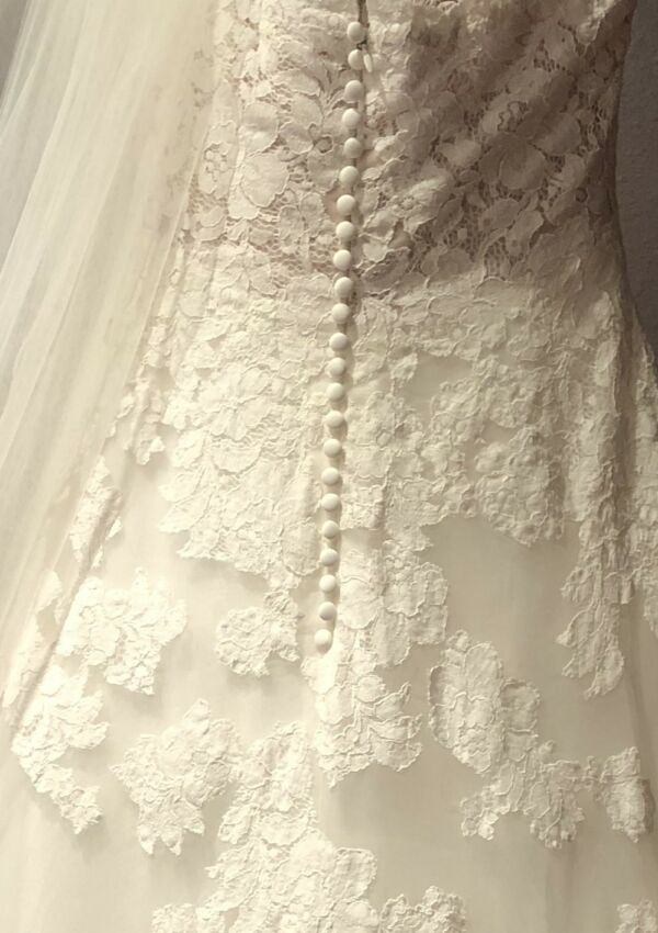 Second Hand Brautkleid | White One / St. Patrick / Pronovias | A-Linie | Gr. 38