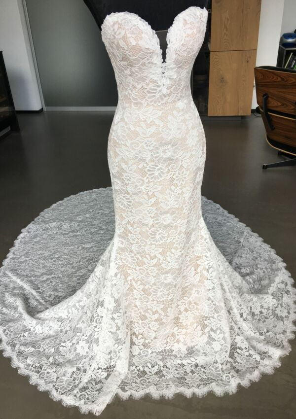 Second Hand Brautkleid | Pronovias Barcelona | Boho | Gr. 34