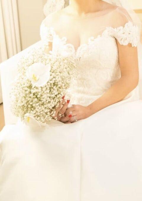 Second Hand Brautkleid | Pronovias Barcelona | A-Linie | Gr. 34