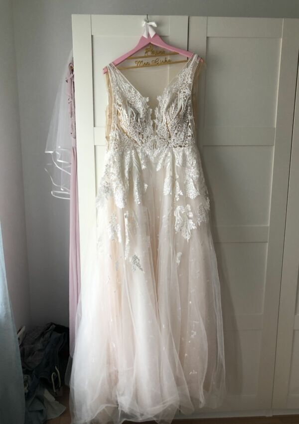 Second Hand Brautkleid | Demetrios / The Sposa Group | A-Linie | Gr. 38