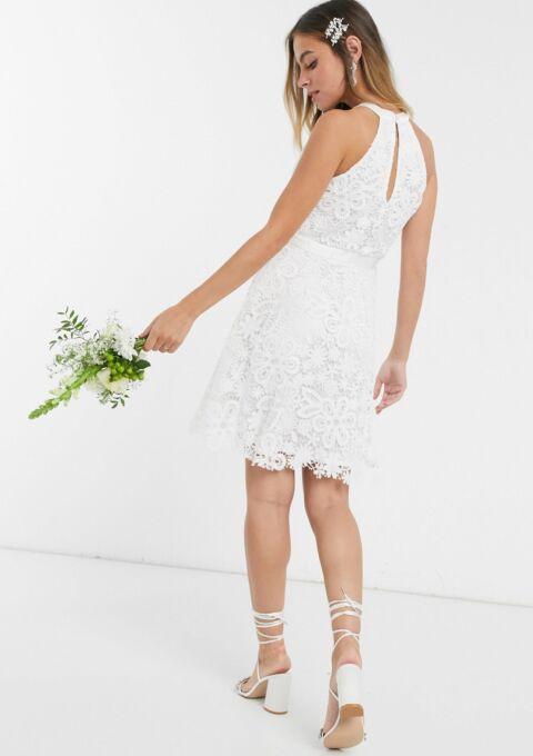 Brautkleid   Y.A.S Petite   Standesamt, Minikleid